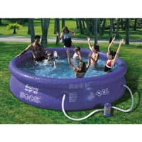 18ft Fast and Easy Set Swimming Pool