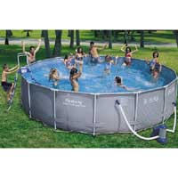 18ft Steel Frame Swimming Pool