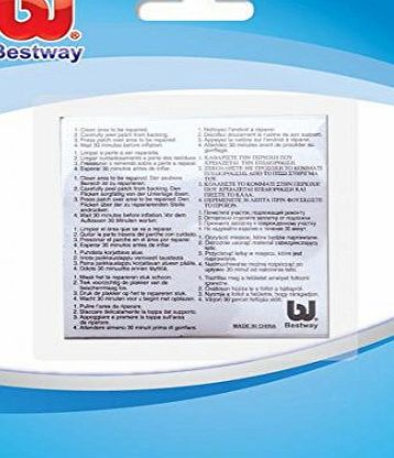 Heavy Duty Inflatsbles Repair Patch - Transparent