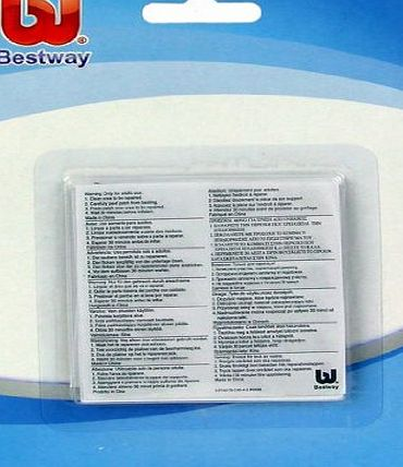 Heavy Duty Repair Patch x 10 for inflatable toys, pools, lilos etc