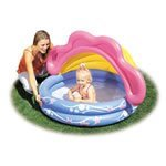 SunShade Inflatable Paddling Pool