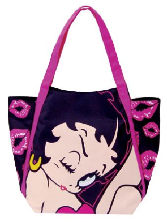 Boop `tepping Out`Shopper Bag