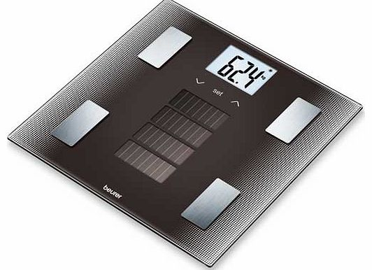 BF300 Solar Powered Scale - Black