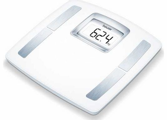 BF400 Acrylic and Glass Scale - White