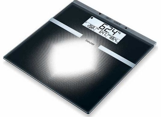 BG21 Glass Diagnostic Scale - Black
