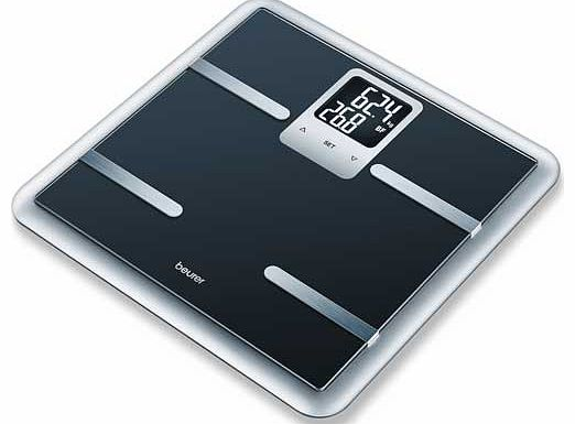 BG40 Luxury Glass Scale - Black