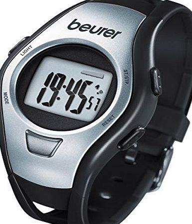 Beurer PM 15 Heart Rate Monitor - Silver/Black