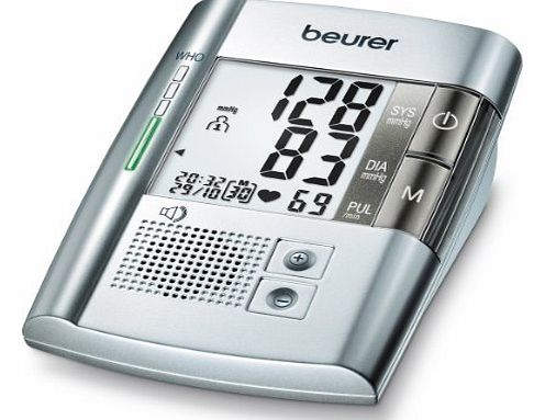 Beurer Talking Upper Arm Blood Pressure Monitor