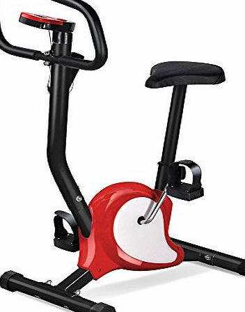 Beyondfashion Top Quality Safe Professional Exercise Bike Best choice Weight Lose (Red)