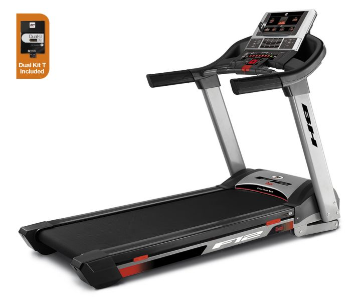 BH F12 Treadmill (Dual Kit T Included)