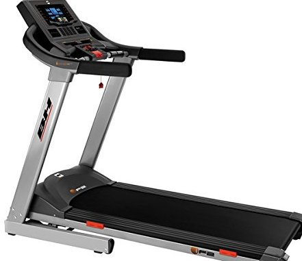 Treadmill i.F2 G6417 BH Fitness. Speed between 1 and 18 km/h. ECO-MODE function. Compatible with Android* and iOS* operating system. Electric incline up to 12%. Foldable. Designed for regular use at h