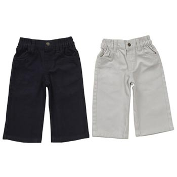 2 pack chino trousers