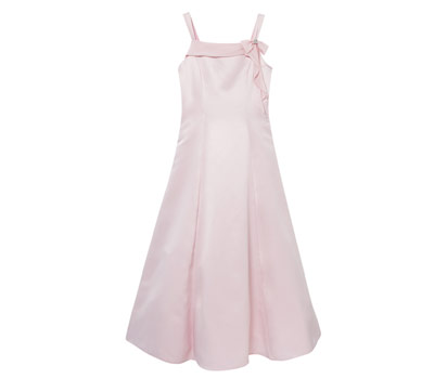 Adriana pink teen dress