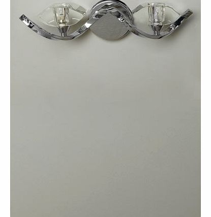 Azita Wall Light, chrome 9720250409