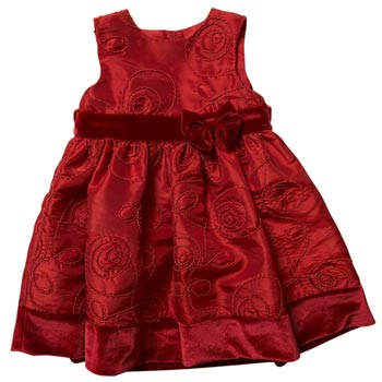 Baby bow party dress