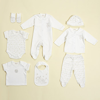 bhs Bear and bunny 8 piece set