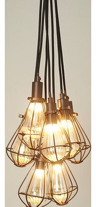 Billie 7 light cluster, bronze 9780736497