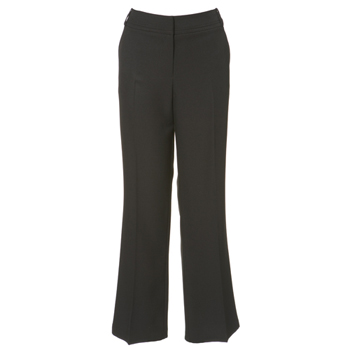 Black suit trouser with stab stitch