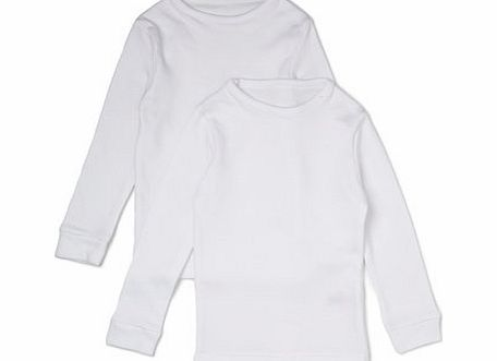 Boys 2 Pack Boys Thermal Long Sleeved Tops,