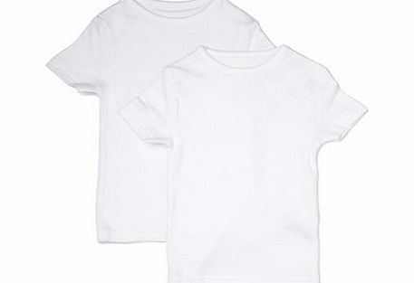 Boys 2 Pack Boys Thermal Tops, white 1497150306