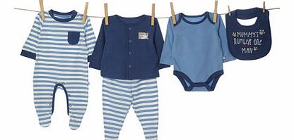 Bhs Boys Baby Boys 5 Piece Starter Set, multi