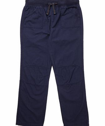 Boys Boys Navy Pull On Trousers, navy 2073870249