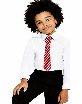 Boys Junior Boys 2 Pack Slim Fit Non-Iron School