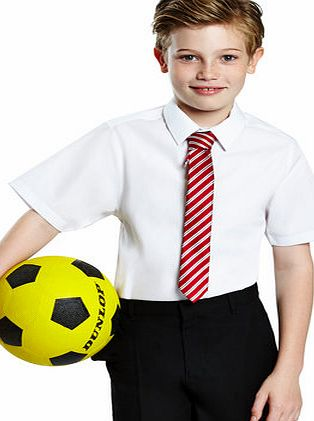 Boys Senior Boys 2 Pack Slim Fit Short Sleeved