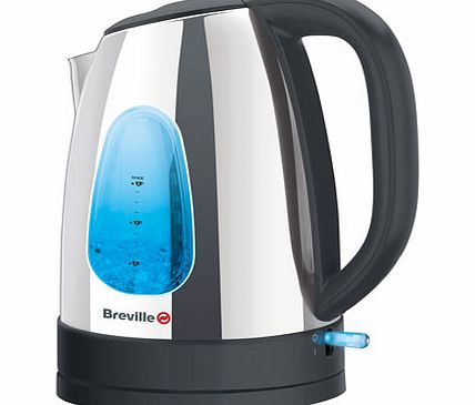 Breville polished stainless steel kettle, silver