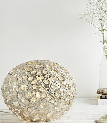 Champagne Ball Table Lamp, champagne 9781270413