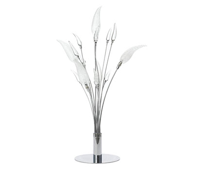 Chilli glass 5 light table lamp