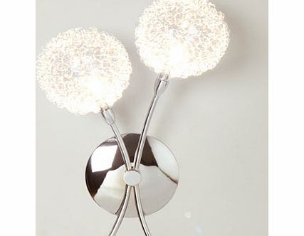 Chrome Allium Wall Light, chrome 9775570409