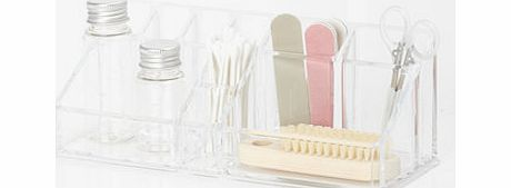 Clear acrylic make up holder, clear 1934922346
