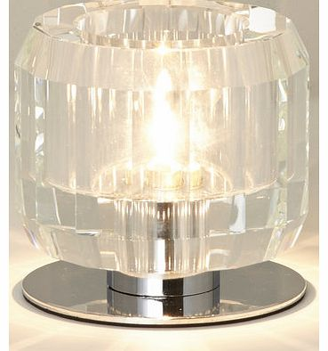 Cora vessel table lamp, clear 9775432346