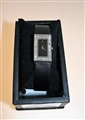 Diamante Black Rectangular Ladies Watch