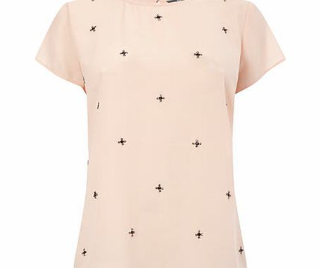 Embellished Shell Top, pale pink 8614743511