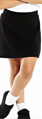 Girls Girls Black Sport School Skirt, black