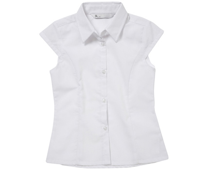 Girls value short sleeved blouse