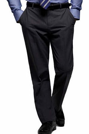 Grey Shadow Check Regular Fit Suit Trousers,