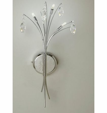 Ina wall light, clear 9784302346