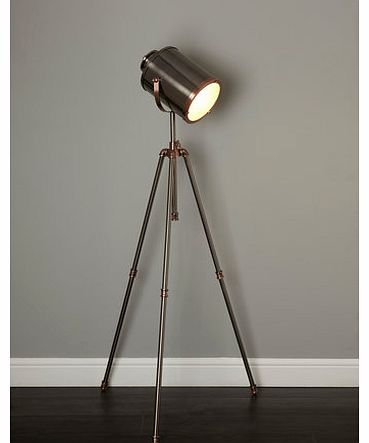 Isaac camera tripod floor lamp, copper 9783390795