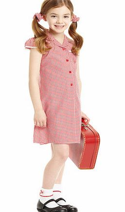 Junior Girls Red Great Value 2 Pack Gingham