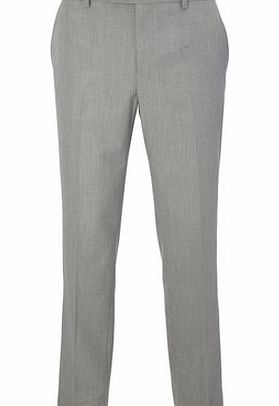 Light Grey Cotton Trousers, Grey BR65T10EGRY