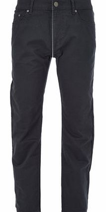 Navy Stretch Twill Jeans, Blue BR59C01ENVY