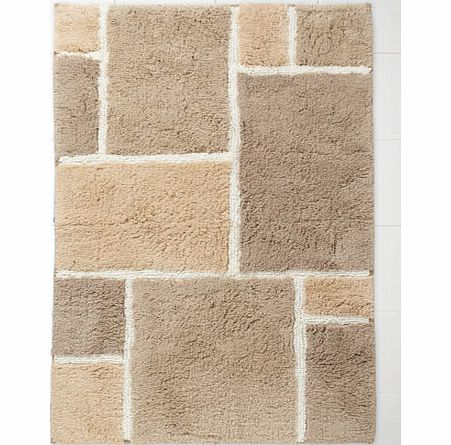 Neutral Tiles Bath Mat, neutral 1926100824