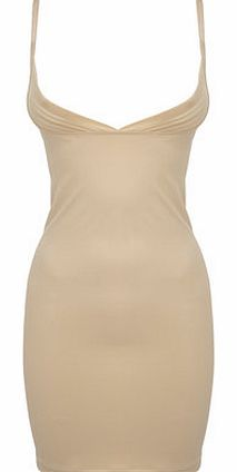 Nude Shaping Slip Dress, nude 4800923150