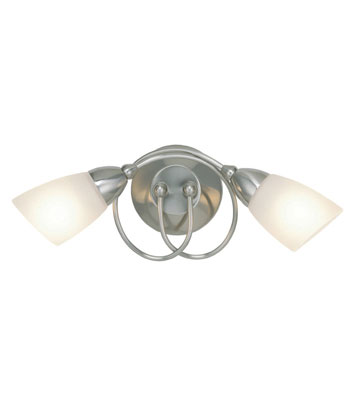 Ottoni wall light - Satin Nickel