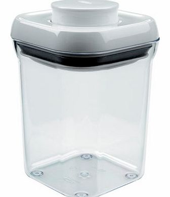 Oxo Good Grips Pop Sqaure Container 0.9L, clear