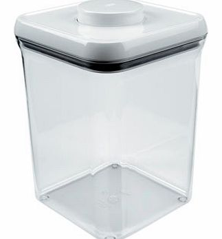 Oxo Good Grips Pop Sqaure Container 3.8L, clear
