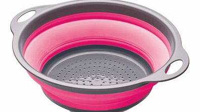 Pink KitchenCraft Colourworks 2.8 Collapsible